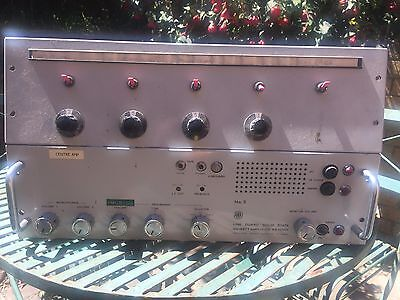 AWA Vintage PA Amp PA 1011BY with Zone Switch Panel ex- Shopping Centre Works