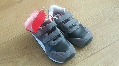 BNWT Boys PUMA trainers shoes - grey 8.5 UK 8 1/2 UK Infant