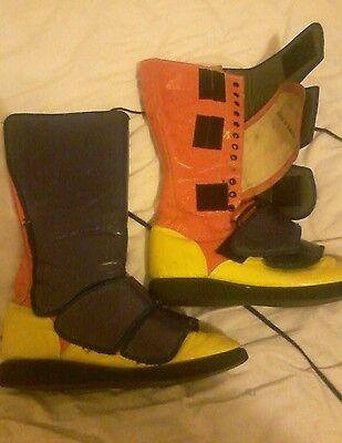 Pro wrestling boots size 9