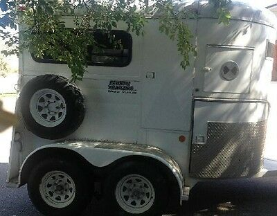 Horse Trailer Good Condition 2/Horse Trailer with Windows and Doors & Divider