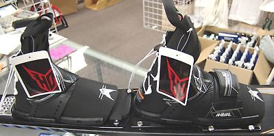 NEW HO Animal Waterski Dbl Boot Set- Large - Mens 10 to 11- Fits Syndicate