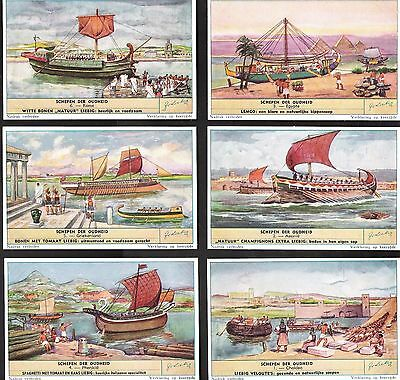 1954,liebig Cards,*ancient Boats*,s1584