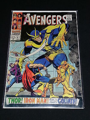 Avengers #51 - Marvel Comics - April 1968 - 1st Print