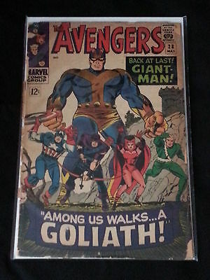 Avengers #28 - Marvel Comics - May 1966 - 1st Print - 1st App The Collector