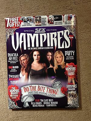 Sfx Vampire Special Magazines All 4 Of The Collection
