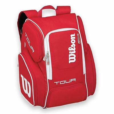 *NEW*  Wilson Tour V Red Large Tennis Backpack!