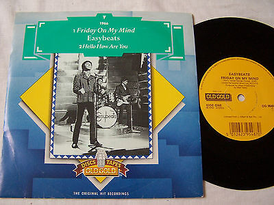 Easybeats - Friday On My Mind ** Rare Old Gold In Picture Cover **