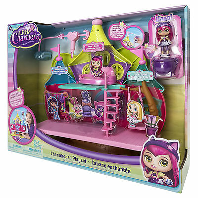 Playset Little Charmers 8 cm  Charmhouse  - Spin Master