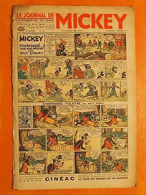 Le journal de Mickey N° 121 du 07/02/1937-Walt Disney. éditions Opera Mundi
