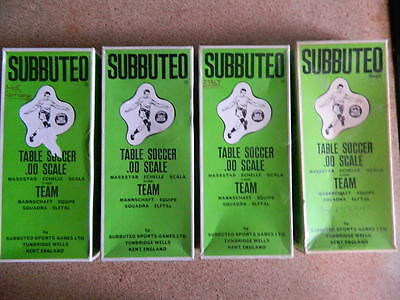 VINTAGE 1970s SUBBUTEO - FOOTBALL H/W SPARE BOXES - All include inners.