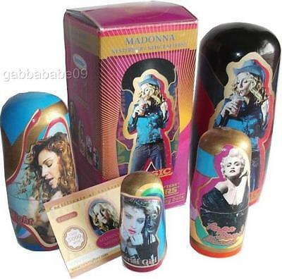 Madonna - Official Icon Fanclub Nesting Doll Set Limited Edition Boy Toy Inc