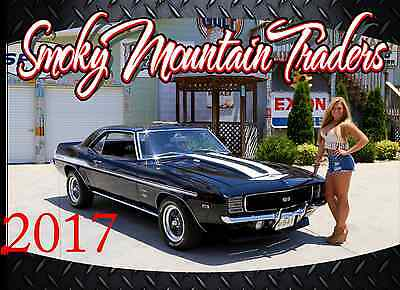 2017 Smoky Mountain Traders Calendar Muscle Car Classic Car