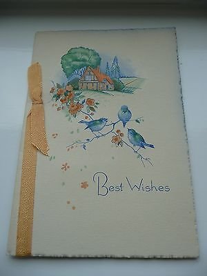 VINTAGE NEW YEAR CARD c1930s-1950s