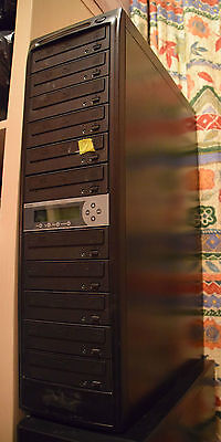 Blu-ray Duplicator Tower 1 to 10 with 500 Gb HDD