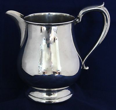 Sterling Silver Cartier Water Pitcher 205 No Monogram