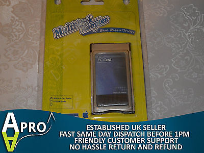 Nos Maplin Multi-In-1 Sd Card Reader Pcmcia Card For Laptop Notebook - Uk Seller