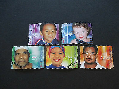No -83--2000  Faces  --Cocos  Island  Issues -Great  Stamps  5  Used