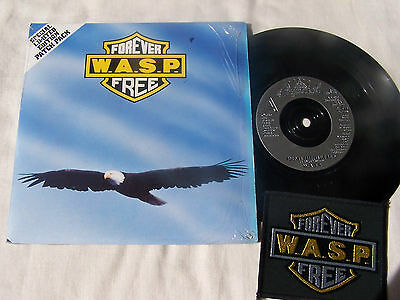 W.a.s.p. - Forever Free / Love Machine ** In Shrink With Ltd Edition Patch **ex