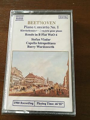 Beethoven - Piano Concerto Nº1 - Rondo  - K7 Cassette Tape Cinta - New Sealed