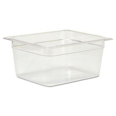 Rubbermaid Commercial Cold Food Pans, 9 1/3qt, 10 3/8w x 12 4/5d x 6h, Clear - I