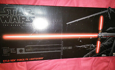 Star Wars The Black Series Kylo Ren Force FX Deluxe Lightsaber |BRAND NEW SEALED