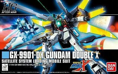 HG After War GX-9901-DX Gundam Double X 1/144 Scale by Bandai