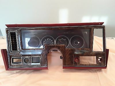 1977, 78, Chevy Nova Concours A/C Dash Bezel and Instrument Cluster Like New!!