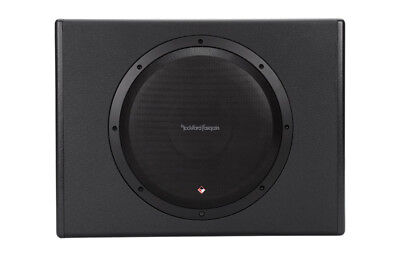 "Rockford Fosgate P300-12 Punch Single 12"" 300 Watt Amplified Subwoofer"
