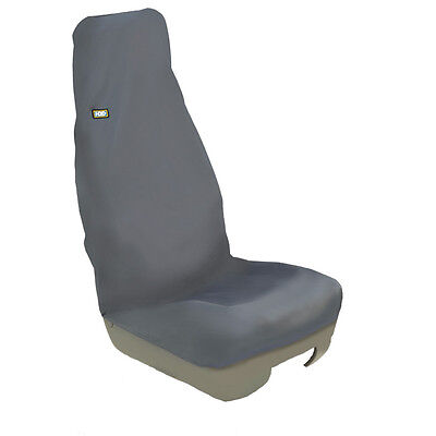 Hdd Technicians Universal Front Black Seat Cover