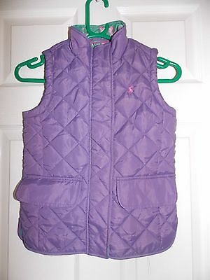 Superb New Girls Designer Joules Quilted Gilet Jacket Uk Size 8 Yrs Rrp £45