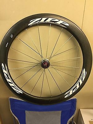 ZIPP 404 Firecrest carbon clincher rear wheel; Shimano 10-speed, mint condition