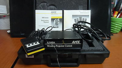 AMX Wireless Projector Control Model MX40A with carrying case