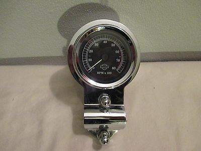 Harley Davidson FXSTD FXSTS Springer Deuce Tachometer and Mount