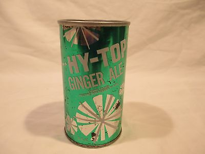 Hy-Top Ginger Ale Straight Steel Pop Soda Can