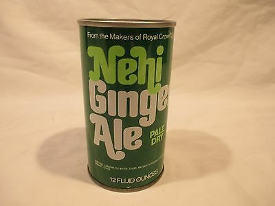 Nehi Ginger Ale Straight Steel Pop Soda Can