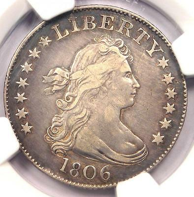 1806 Draped Bust Quarter 25C - NGC XF Details (EF) - Rare Coin - $3,750 in XF40