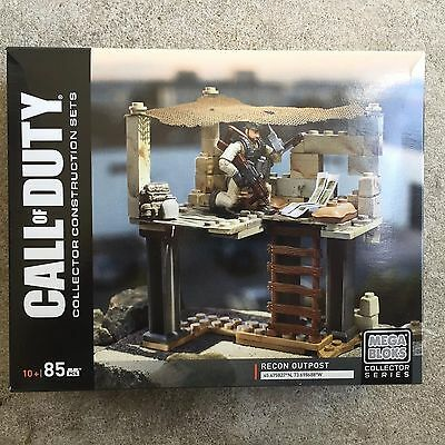 Mega Bloks Call of Duty Sniper Recon Outpost Brick Toys Weapons Soldier DPB52