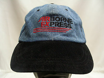 Airborne Express - Retro - Adjustable Strapback Ball Cap Hat!