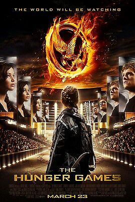 Hunger Games Catching Fire Classic Large Movie Poster Print A0 A1 A2 A3 A4 Maxi