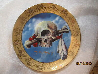 """Grateful Dead """"CYCLOPS"""" Collector Plate Stanley Mouse"""