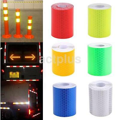 3M Car Truck Reflective Safety Warning Conspicuity Roll Tape Film Sticker US