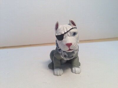 "Hood Pups Puppy Hounds Raider Football Pit Bull Dog 2"" Figurine C"