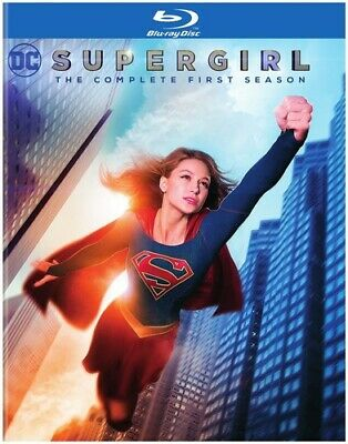 Supergirl: The Complete First Season - 3 DISC SET (2016, Blu-ray NEW)