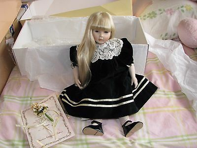 Dolls By Pauline Pauline's Doll Limited Edition Signed 211/950 Annabelle