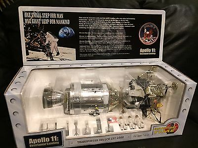 Vintage APOLLO 11 Explorations in Time Lunar Landing model unopened
