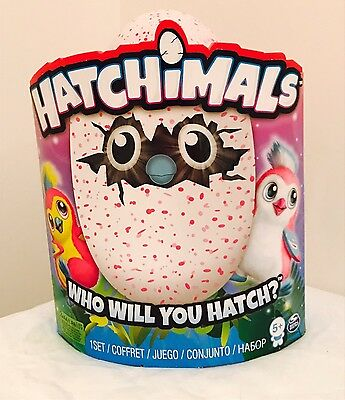 hatchimals - New In Box! Pink Egg Pengualas Nrfb