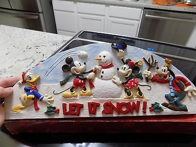 Mickey And Friends Doortopper Christmas Winter Themed