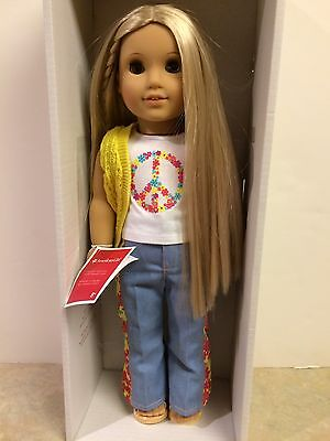 """NEW - American Girl - Beforever Julie Albright Doll 18"""" inch FAST shipping"""