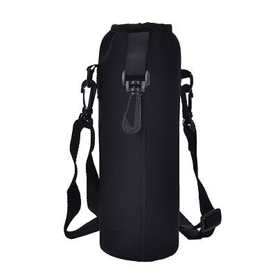 New 1000ML Water Bottle Carrier Insulated Cover Bag Holder Strap Pouch OZ