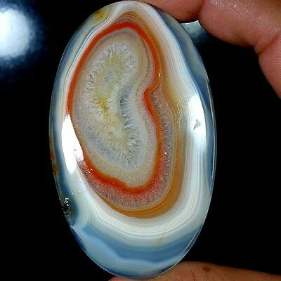 192.75Cts. BIG ! 100% NATURAL AUSTRALIN RED BANDED AGATE OVAL CABOCHON GEMSTONES